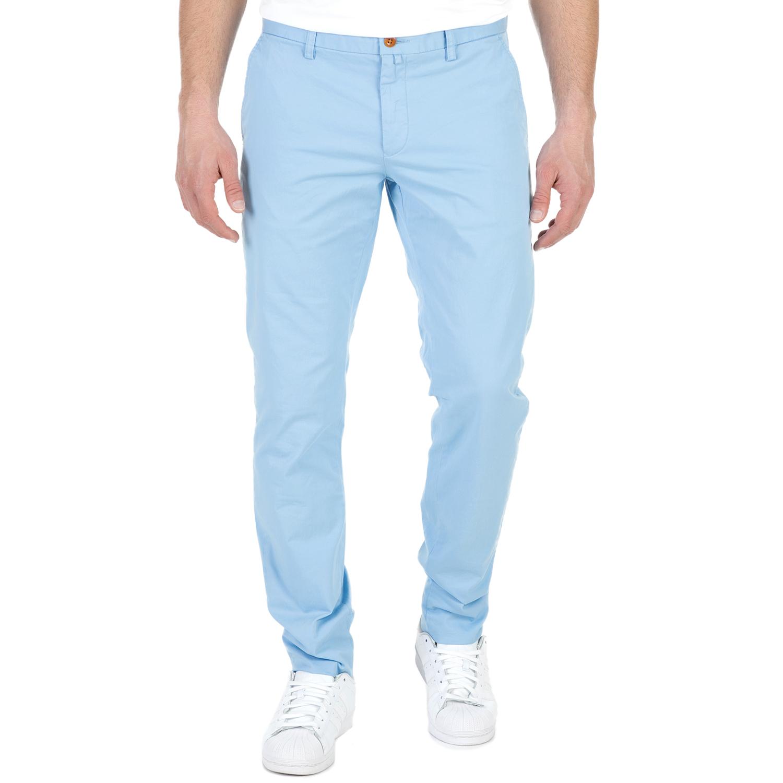 GANT - Ανδρικό chino παντελόνι GANT γαλάζιο ανδρικά ρούχα παντελόνια chinos