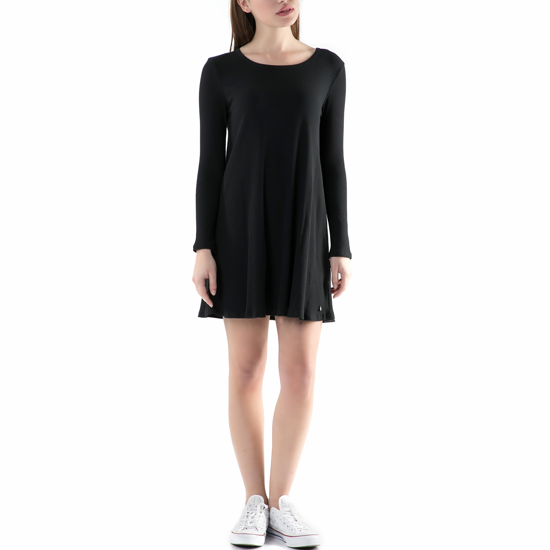 FUNKY BUDDHA - Μίνι φόρεμα FUNKY BUDDHA μαύρο γυναικεία ρούχα φορέματα μίνι