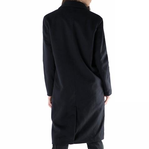 Γυναικείο παλτό FUNKY BUDDHA μπλε σκούρο (1666802.0-1300)  f4db87a7ef3