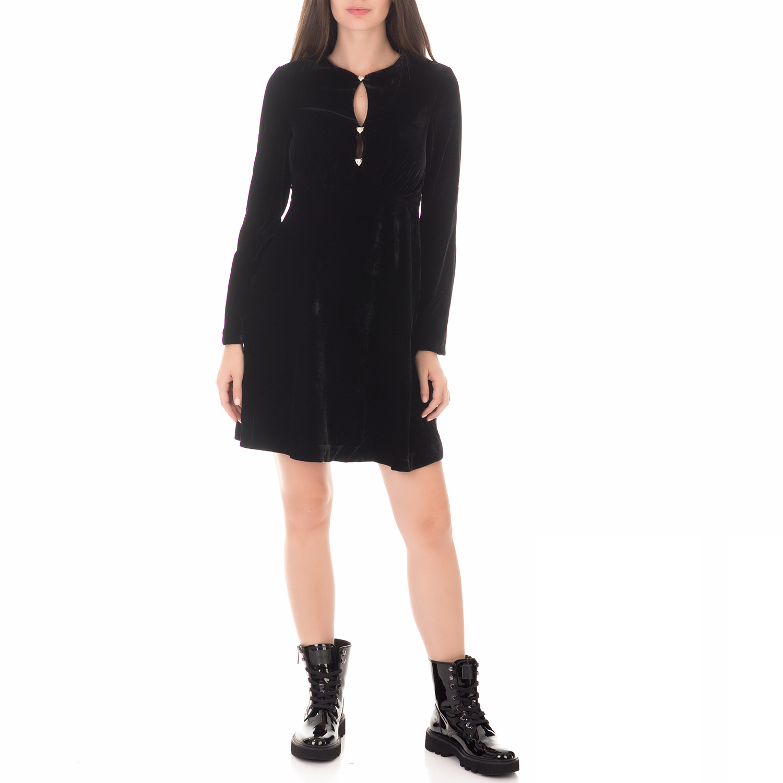 GUESS - Γυναικείο μίνι φόρεμα GUESS ELIANA μαύρο