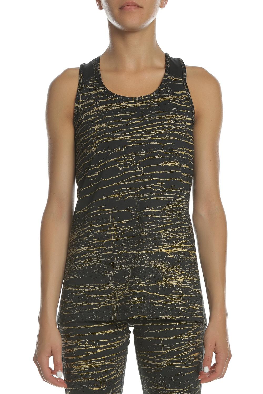7bc5e19fee15 NIKE - Γυναικεία αμάνικη μπλούζα NIKE TANK VCTRY MTLC CRCKL μαύρη-χρυσή
