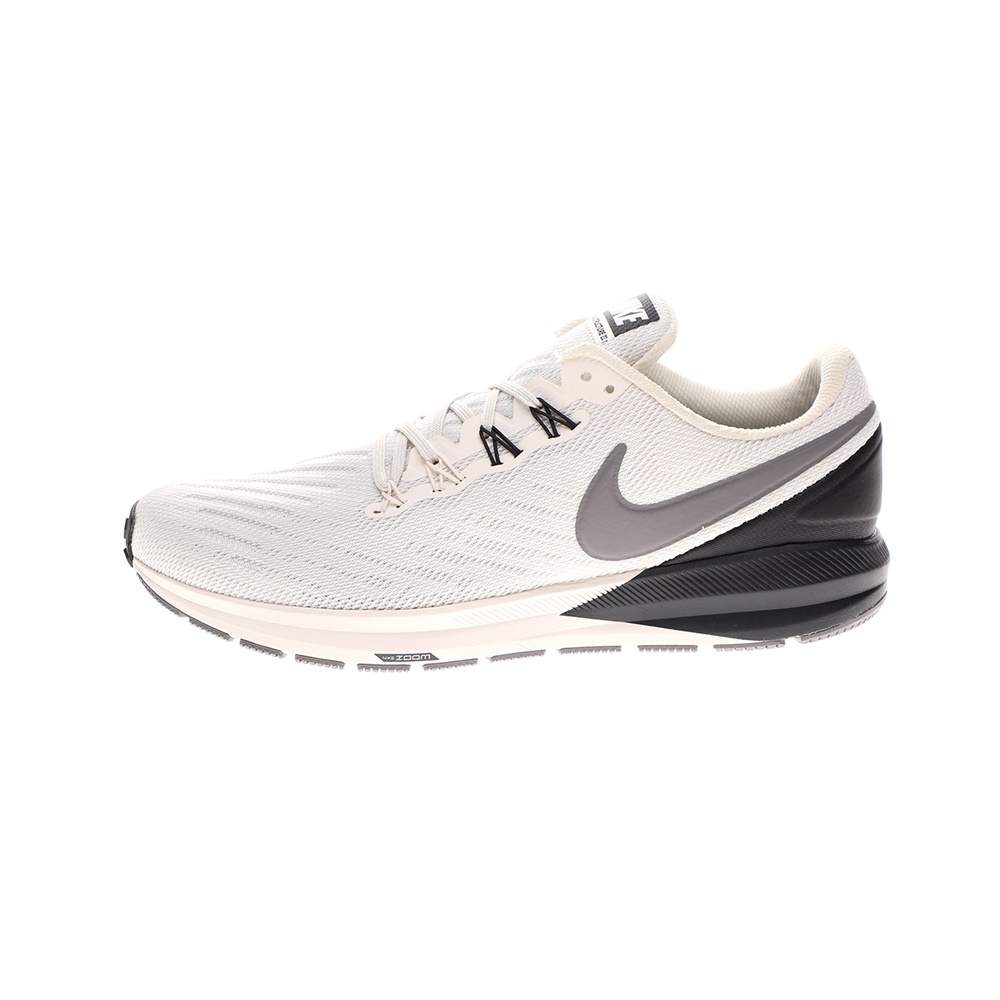 NIKE – Ανδρικά παπούτσια running NIKE AIR ZOOM STRUCTURE 22 λευκά γκρι