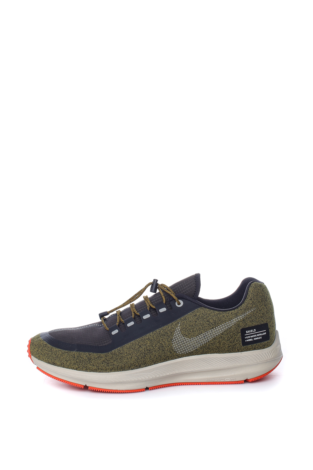 3b37d66c2 -40% Factory Outlet NIKE – Ανδρικά παπούτσια για τρέξιμο NIKE ZOOM WINFLO 5  RUN SHIELD χακί