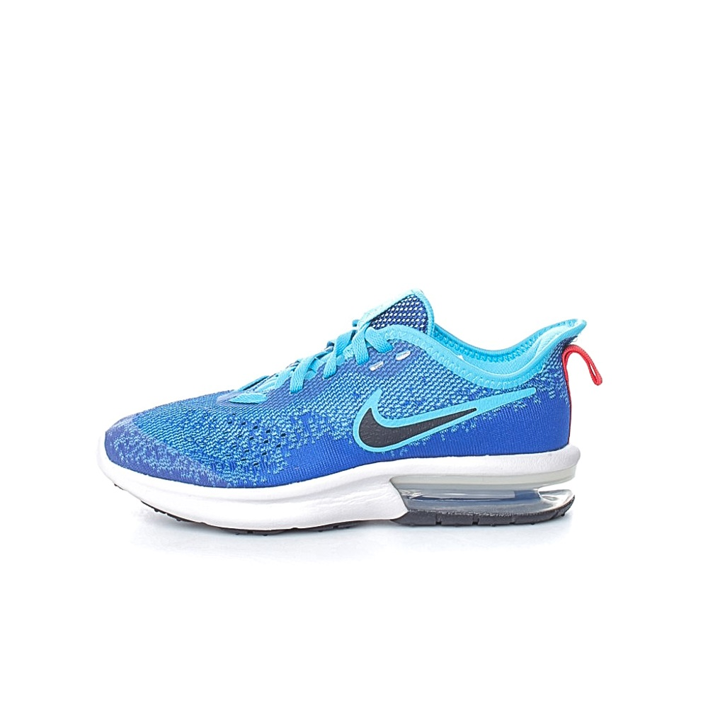 NIKE – Αγορίστικα αθλητικά παπούτσια NIKE AIR MAX SEQUENT 4 (GS) μπλε