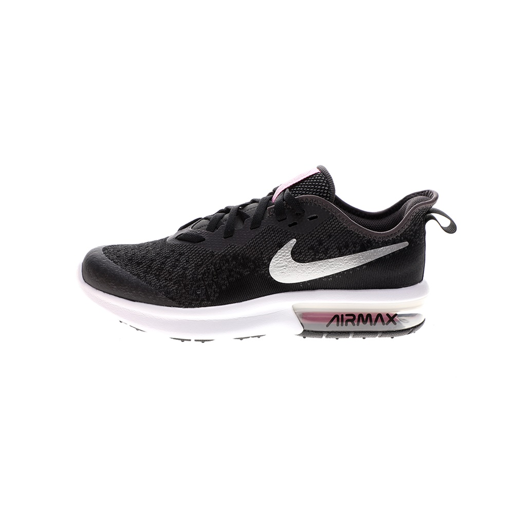 NIKE – Παιδικά παπούτσια running NIKE AIR MAX SEQUENT 4 (GS) μαύρα
