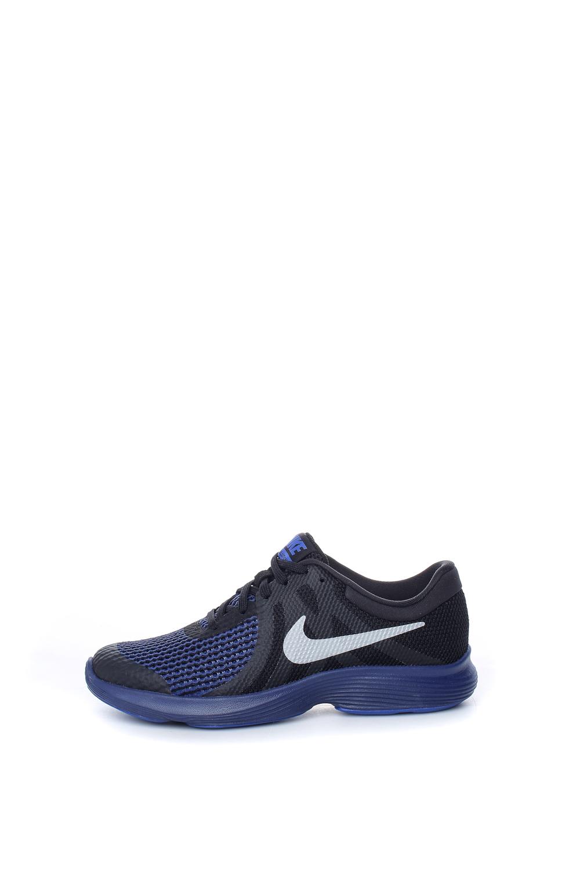 NIKE – Παιδικά αθλητικά παπούτσια NIKE REVOLUTION 4 RFL (GS) μπλε-μαύρα