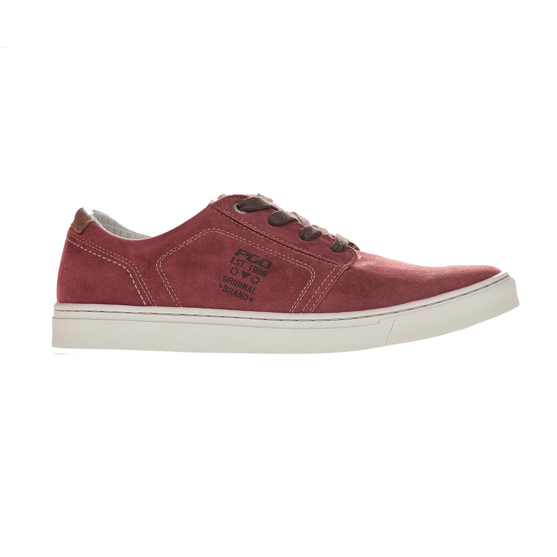 PEGADA – Ανδρικά sneakers Pegada μπορντό