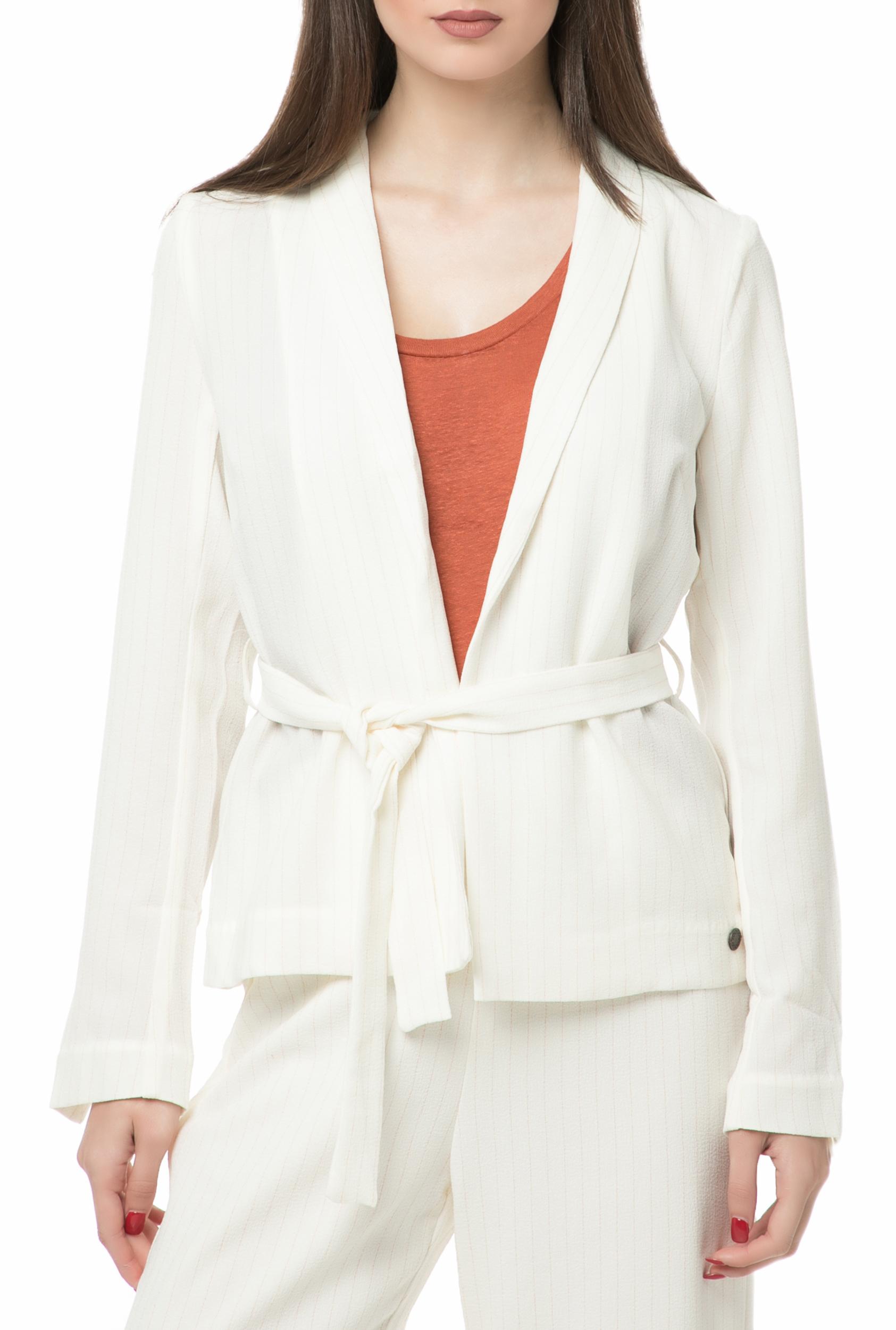 NUMPH - Γυναικείο σακάκι NUMPH εκρού γυναικεία ρούχα πανωφόρια σακάκια