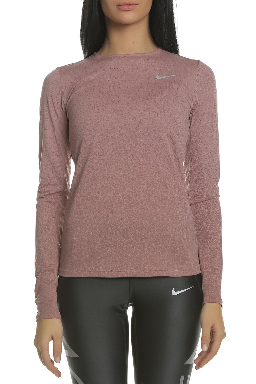 24c083d036 NIKE - Γυναικεία μακρυμάνικη μπλούζα NIKE MEDALIST TOP LS ροζ