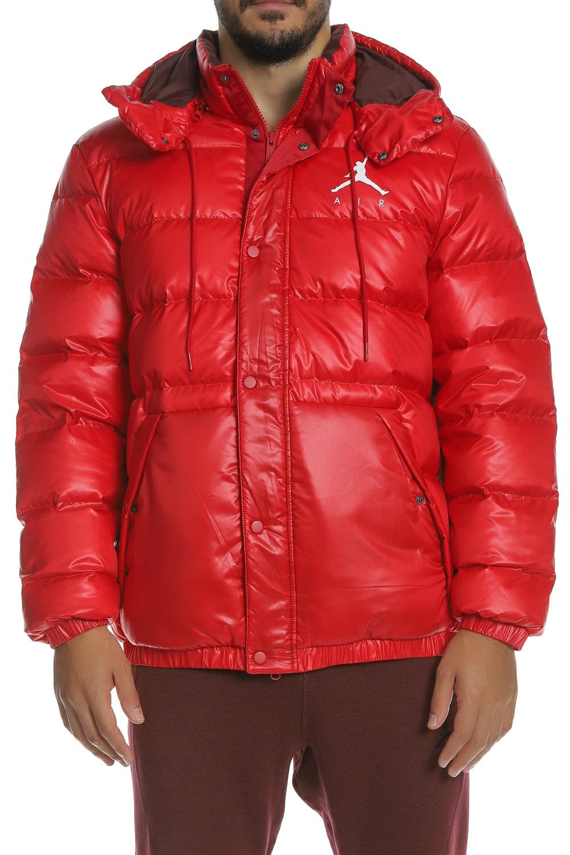 f1802a9f4d61 Factoryoutlet NIKE - Ανδρικό φουσκωτό μπουφάν Jordan Jumpman NIKE κόκκινο