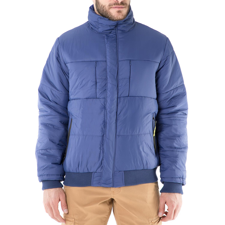 BODYTALK - Ανδρικό φουσκωτό μπουφάν Bodytalk μπλε ανδρικά ρούχα πανωφόρια μπουφάν