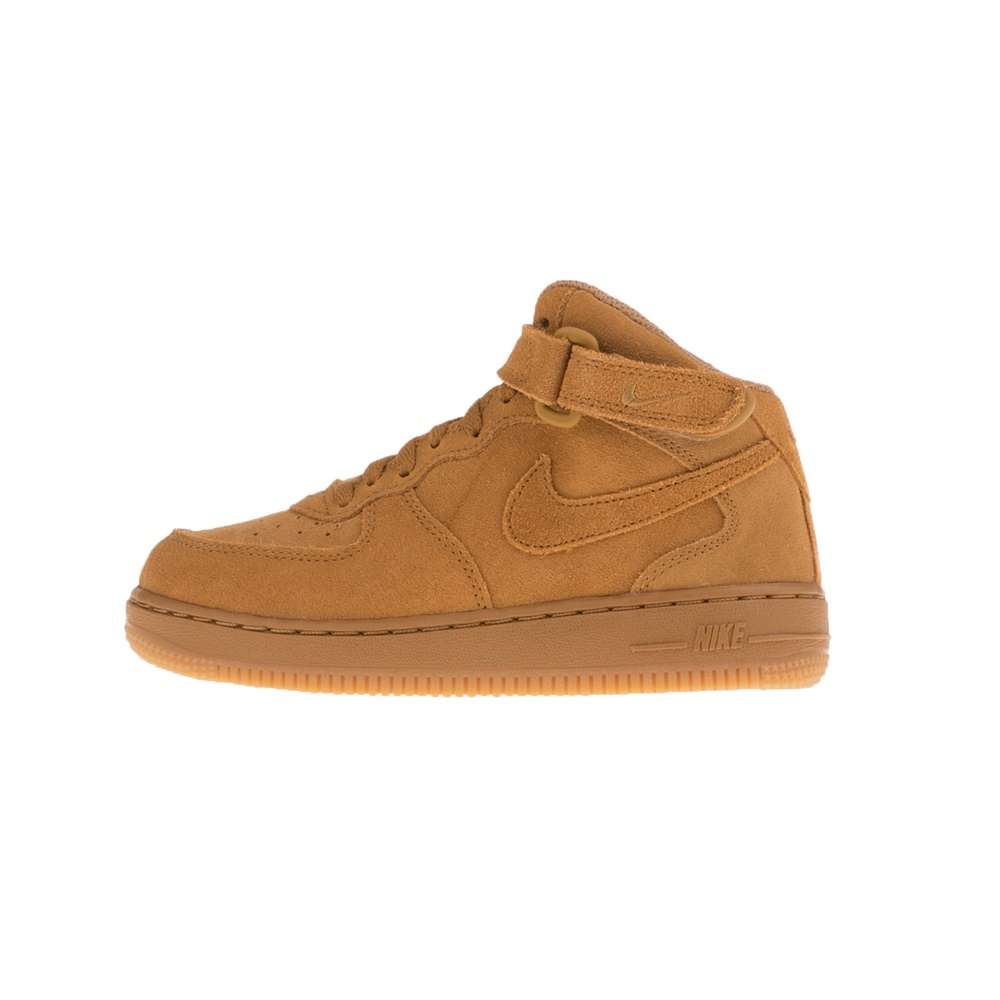NIKE – Παιδικά μποτάκια NIKE FORCE 1 MID LV8 (PS) μπεζ