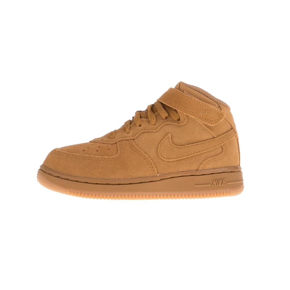 NIKE – Βρεφικά παπούτσια NIKE FORCE 1 MID LV8 (TD) μπεζ