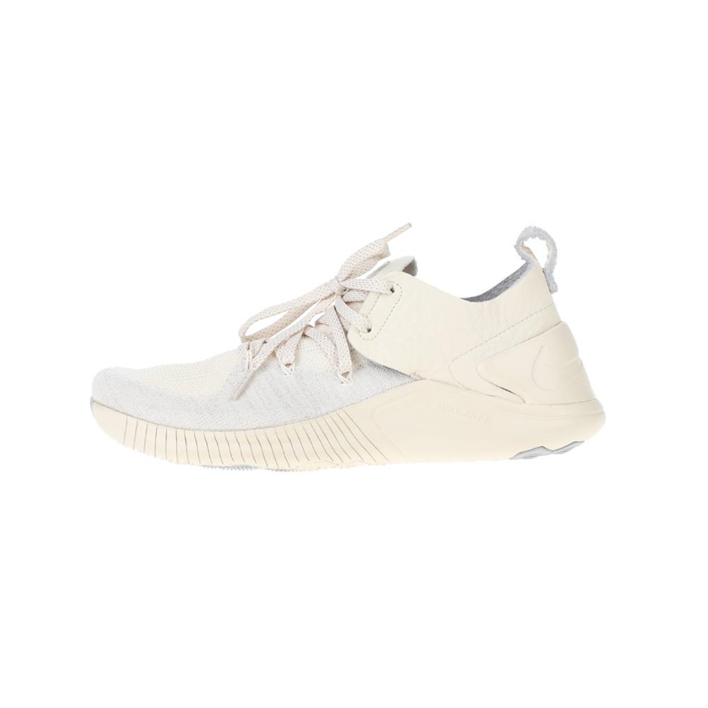 NIKE – Γυναικεία παπούτσια running NIKE FREE TR FLYKNIT 3 CHMP εκρού