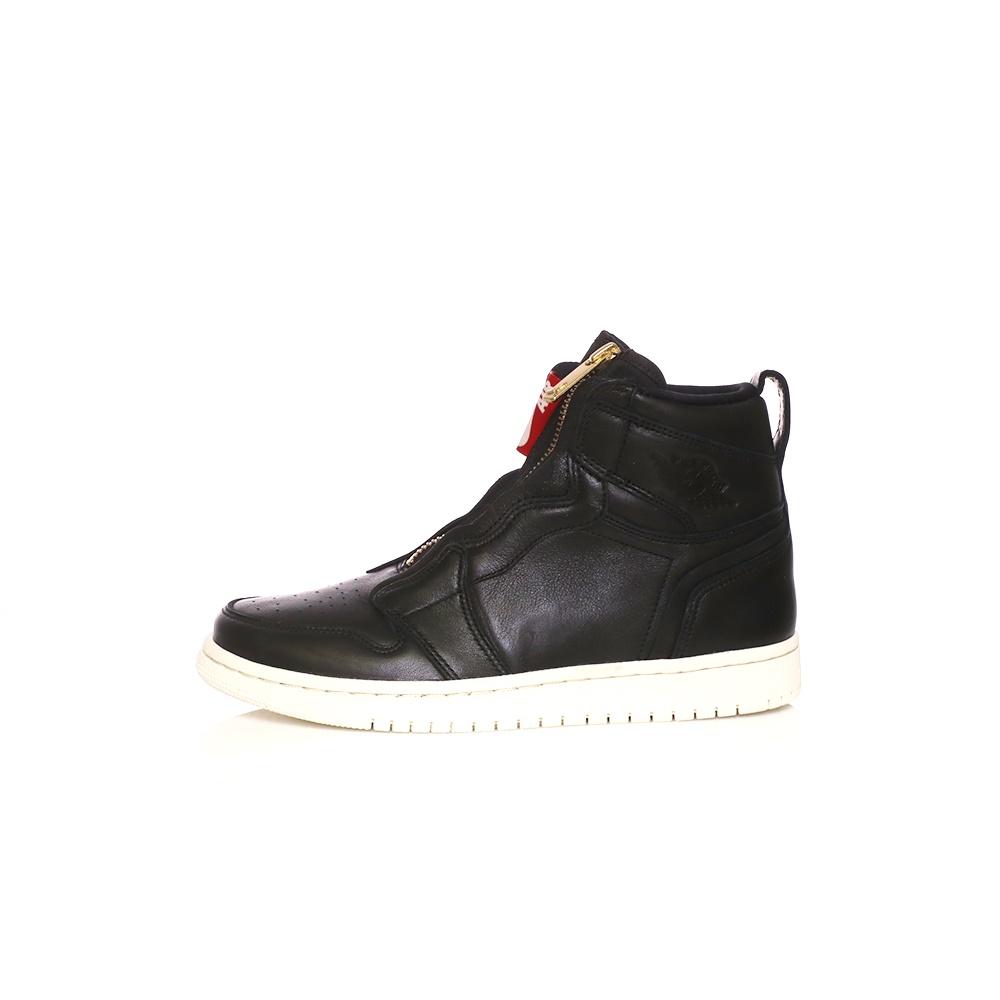 NIKE – Γυναικεία παπούτσια AIR JORDAN 1 HIGH ZIP μαύρα