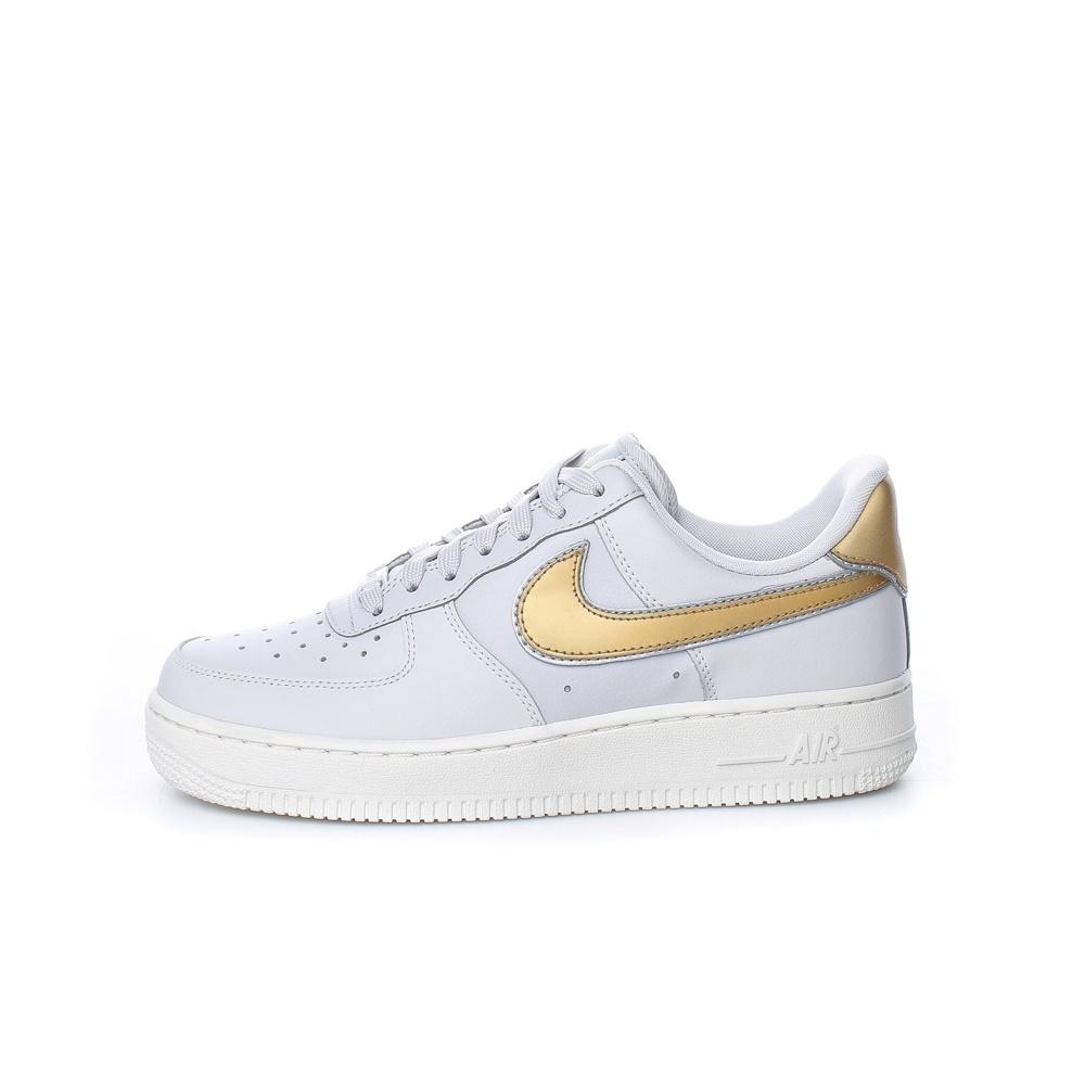 NIKE – Γυναικεία sneakers NIKE AIR FORCE 1 '07 γκρι-μπλε