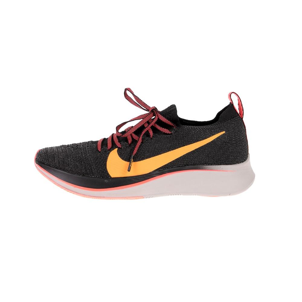 NIKE – Γυναικεία αθλητικά παπούτσια Nike Zoom Fly Flyknit μαύρα πορτοκαλί