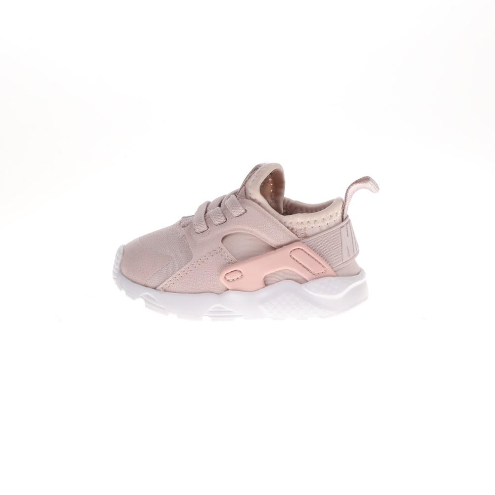 NIKE – Βρεφικά αθλητικά παπούτσια HUARACHE RUN ULTRA PRM (TD) μπεζ ροζ