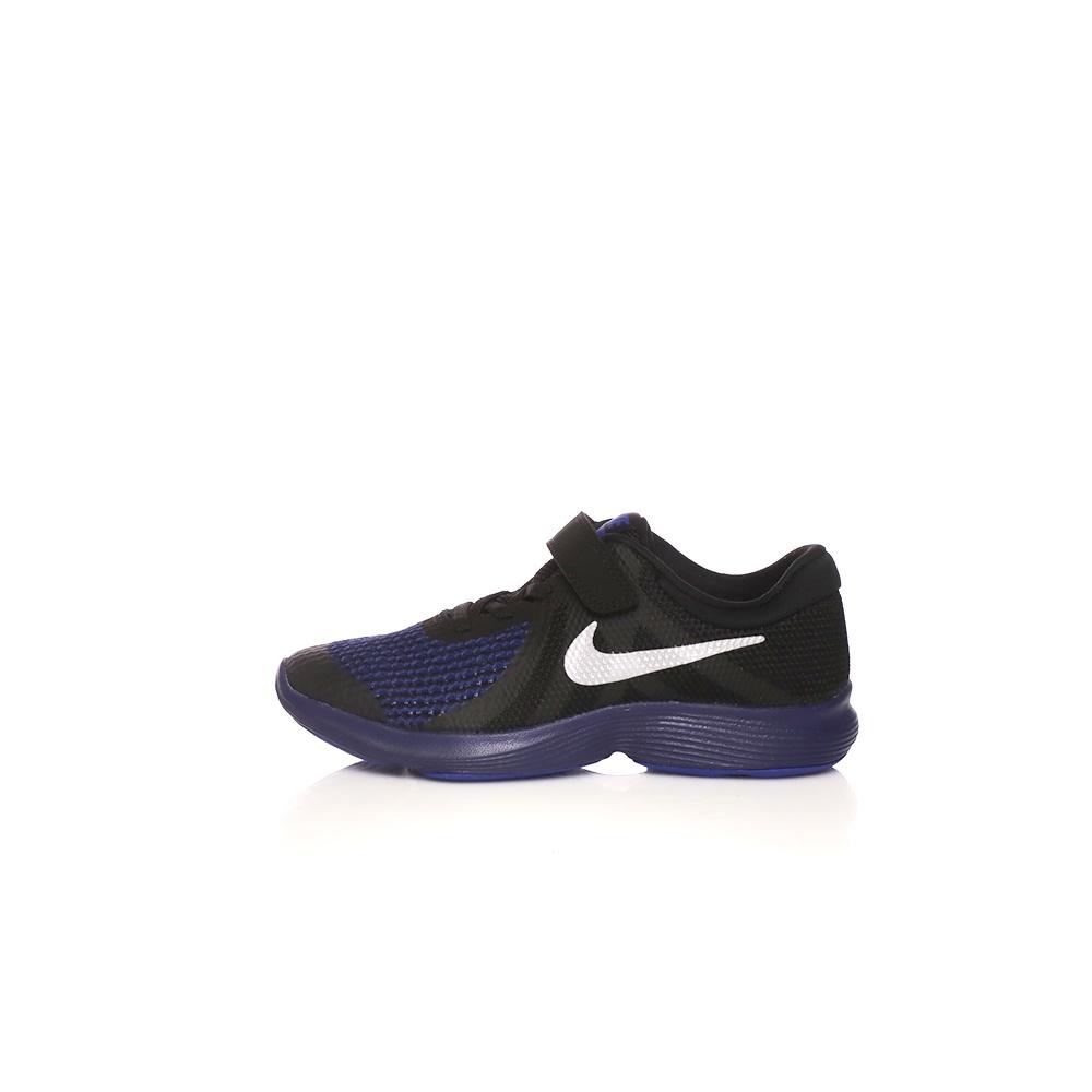 NIKE – Παιδικά παπούτσια NIKE REVOLUTION 4 RFL (PSV) μαύρα-μπλε