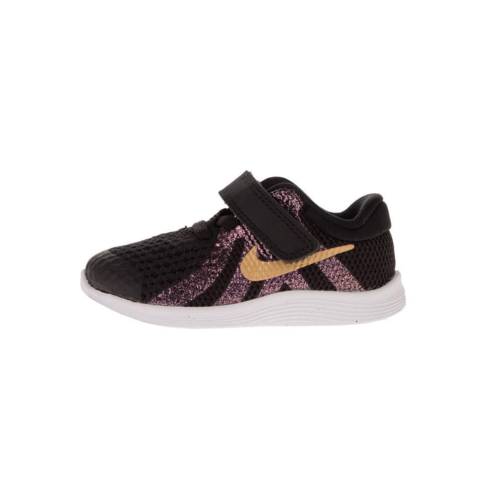 NIKE – Παιδικά αθλητικά παπούτσια NIKE REVOLUTION 4 SH (TDV) μαύρα