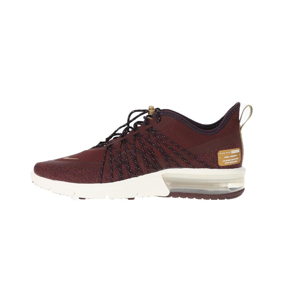 NIKE - Γυναικεία αθλητικά παπούτσια NIKE AIR MAX SEQUENT 4 UTILITY μπορντό γυναικεία παπούτσια αθλητικά running