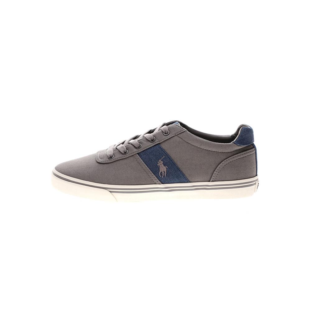 RALPH LAUREN – Ανδρικά παπούτσια sneakers RALPH LAUREN γκρι μπλε