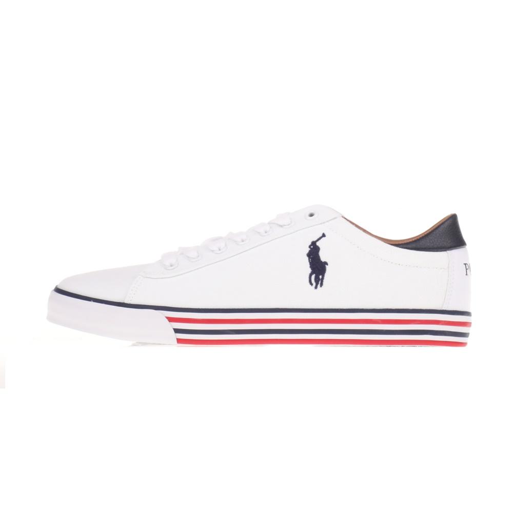 RALPH LAUREN – Ανδρικά sneakers POLO RALPH LAUREN λευκά