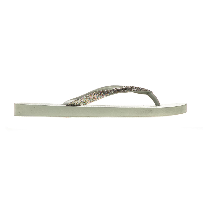 IPANEMA - Γυναικείες σαγιονάρες IPANEMA πράσινες με glitter γυναικεία παπούτσια σαγιονάρες slides casual