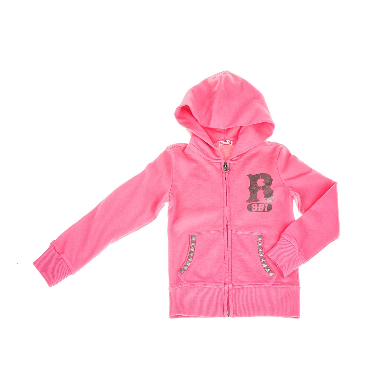 REPLAY – Παιδική κοριτσίστικη φούτερ ζακέτα Replay ροζ