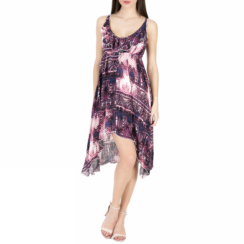 6b82c69e8013 ALE - Γυναικείο μίνι φόρεμα  ALE εμπριμέ