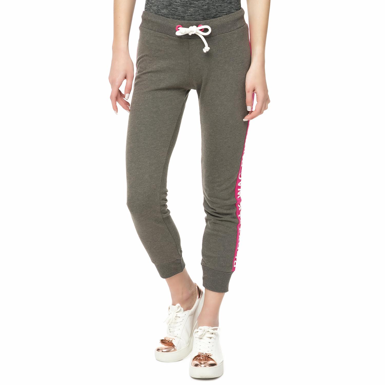 BODYTALK - Γυναικείο παντελόνι φόρμας Bodytalk καφέ- ροζ γυναικεία ρούχα παντελόνια φόρμες