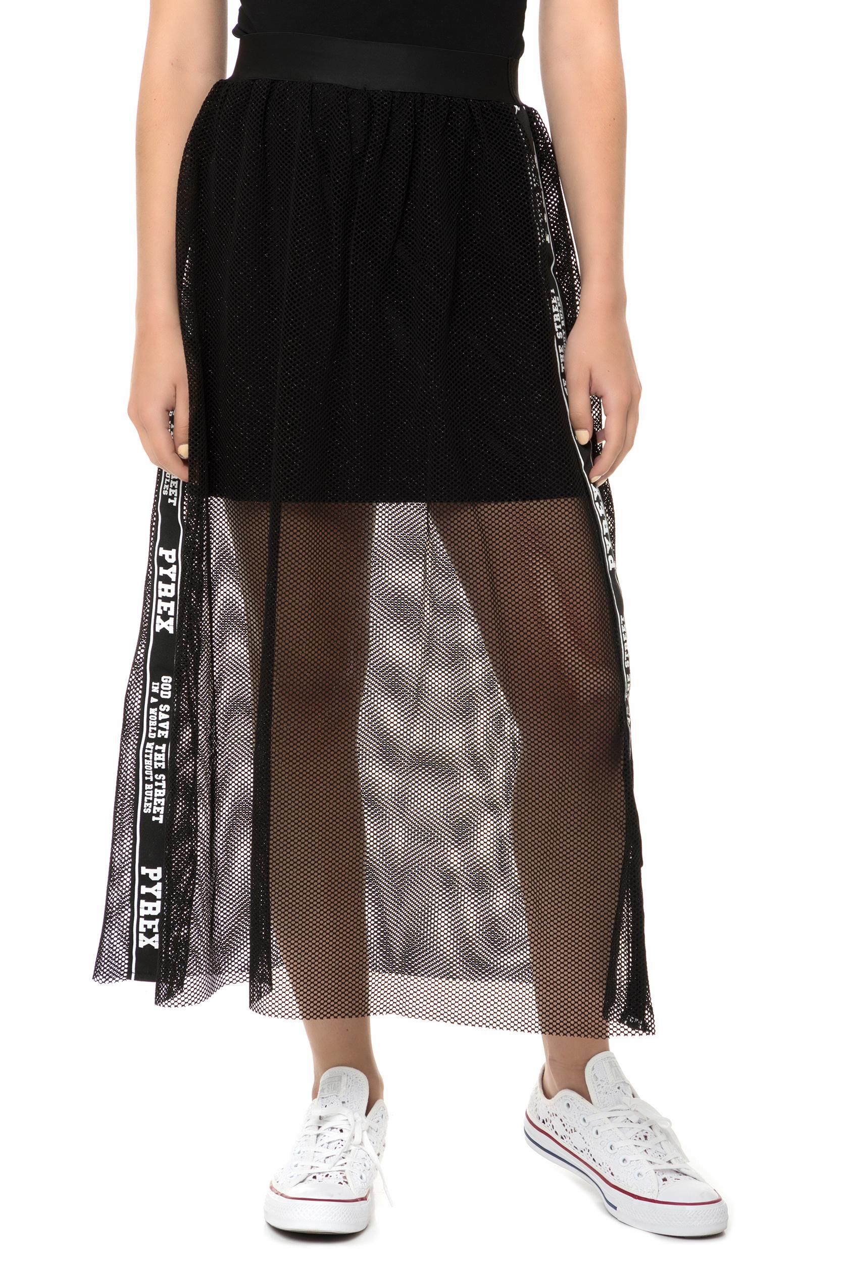 PYREX - Γυναικεία μάξι φούστα PYREX μαύρη