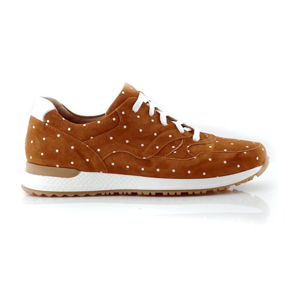 CHANIOTAKIS – Γυναικεία sneakers CHANIOTAKIS καφέ
