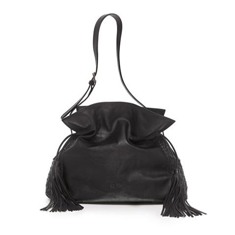26c27e3ea6d Γυναικεία τσάντα πουγκί Folli Follie μαύρη (1672548.0-0000) | Factory Outlet