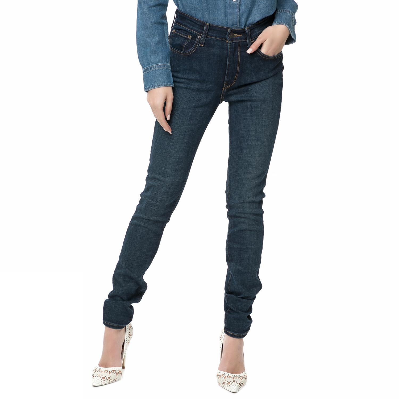 LEVIS - Γυναικείο ψηλόμεσο skinny τζιν παντελόνι LEVI S 721 μπλε ... 4f04fef1da3