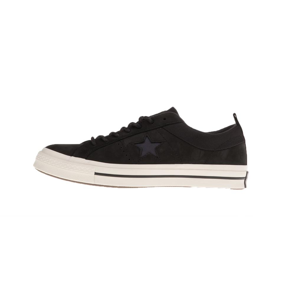 CONVERSE – Unisex παπούτσια CONVERSE ONE STAR μαύρα