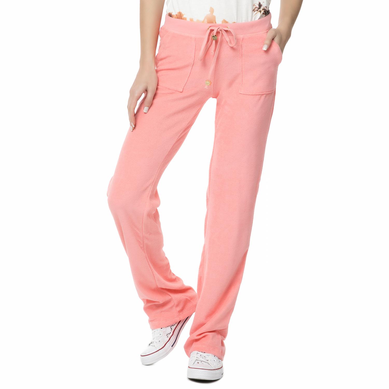 MYMOO - Γυναικείο παντελόνι φόρμας HIGH RISE ADDICTED TO LOVE ροζ γυναικεία ρούχα παντελόνια φόρμες