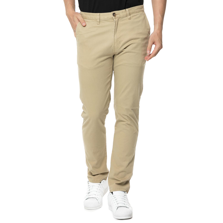 ELEMENT - Ανδρικό chino παντελόνι ELEMENT HOWL μπεζ ανδρικά ρούχα παντελόνια chinos