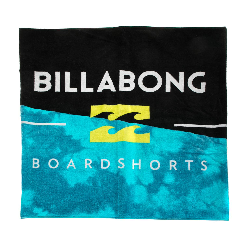 BILLABONG - Ανδρική πετσέτα θαλάσσης BILLABONG SLASH μαύρη-μπλε ανδρικά αξεσουάρ εξοπλισμός παραλίας πετσέτες