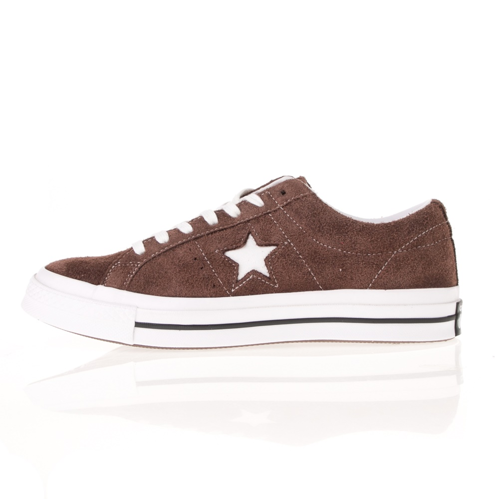 CONVERSE – Unisex sneakers CONVERSE ONE STAR καφέ