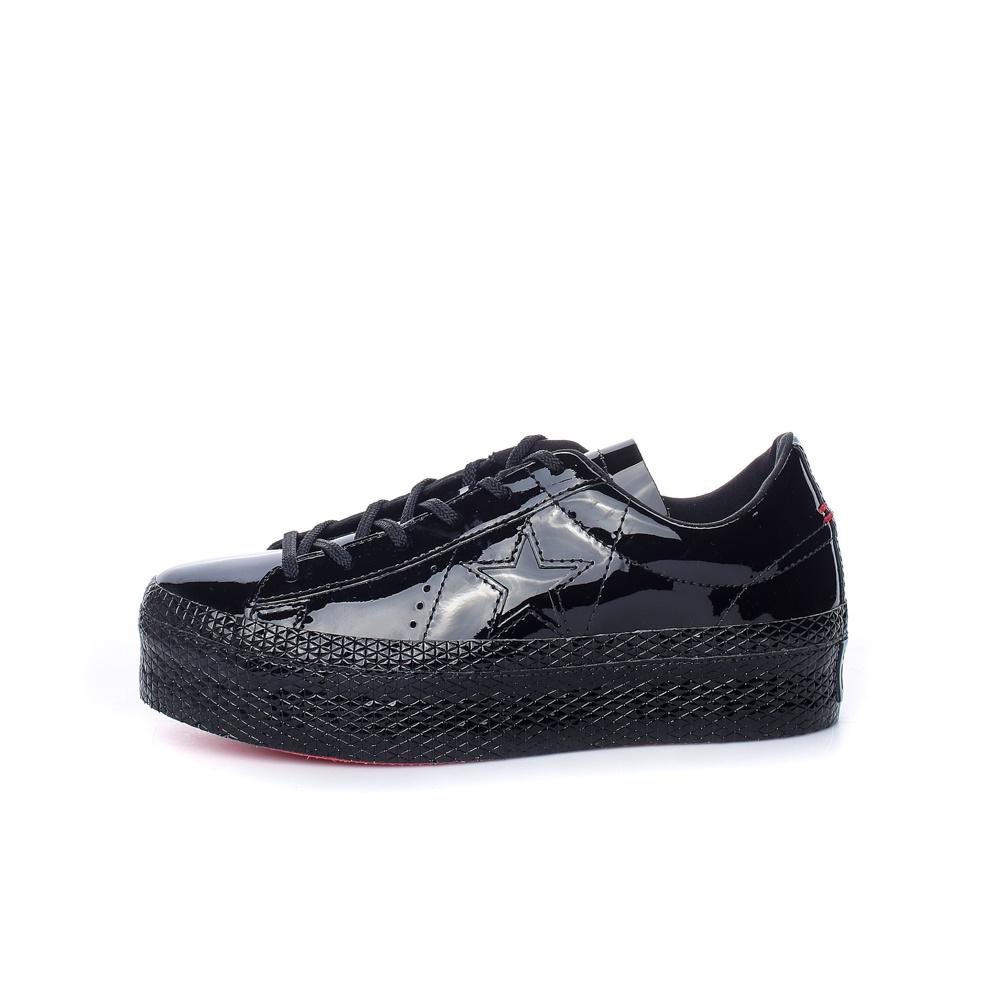 CONVERSE – Γυναικεία sneakers ONE STAR PLATFORM CONVERSE μαύρα