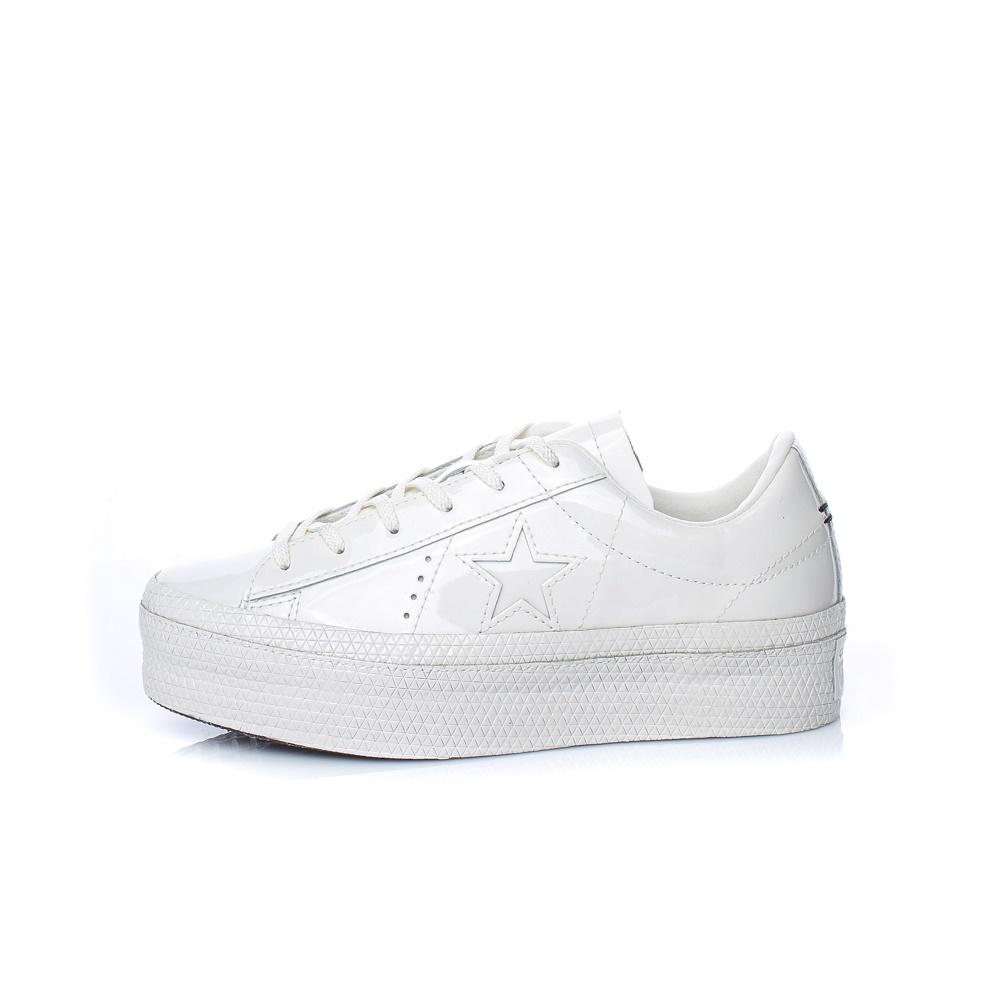 CONVERSE – Γυναικεία sneakers ONE STAR PLATFORM CONVERSE λευκά