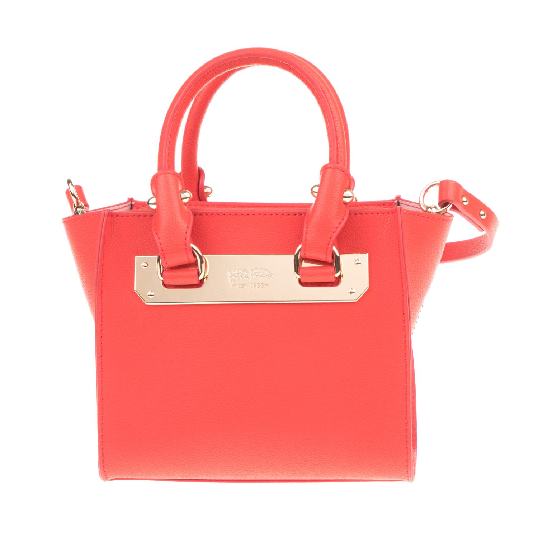42f2e619df FOLLI FOLLIE – Γυναικεία τσάντα χειρός FOLLI FOLLIE κόκκινη