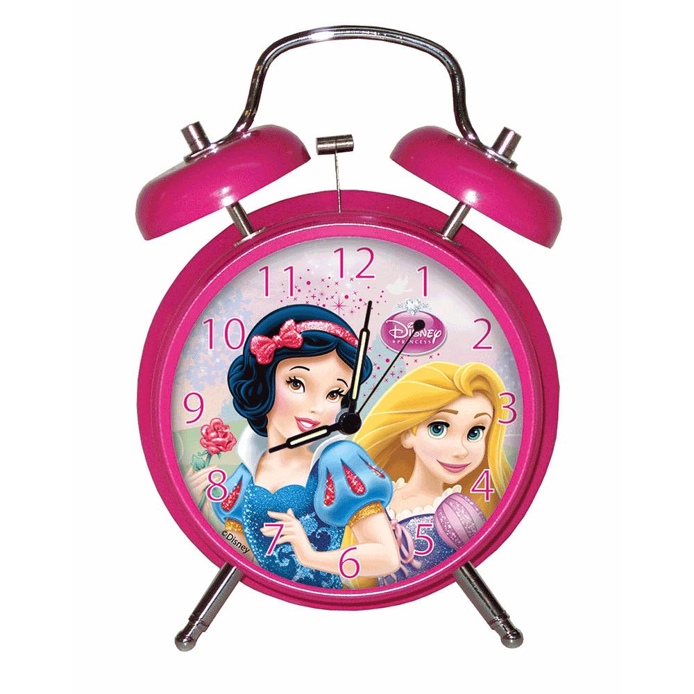 GIM – GIM Επιτραπέζιο ρολόι ξυπνητήρι με πριγκίπισσες της Disney