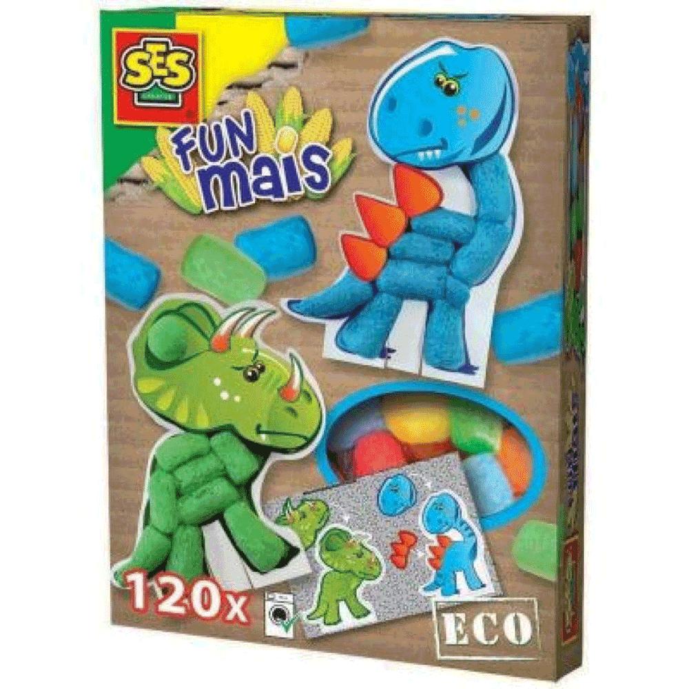 TREFL – SES Κατασκευή δεινόσαυροι με καλαμπόκι