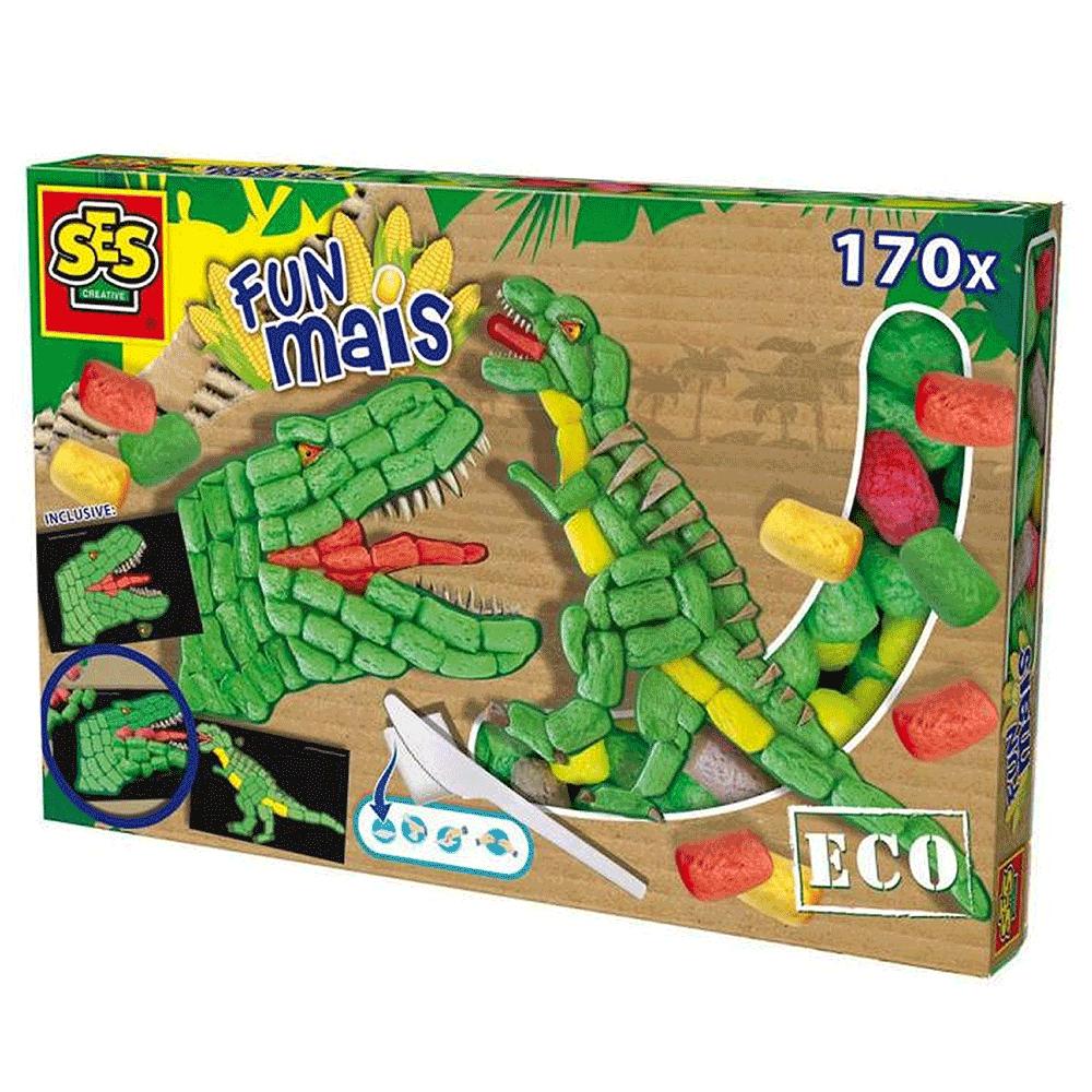 TREFL – SES Dino Κατασκευή με καλαμπόκι
