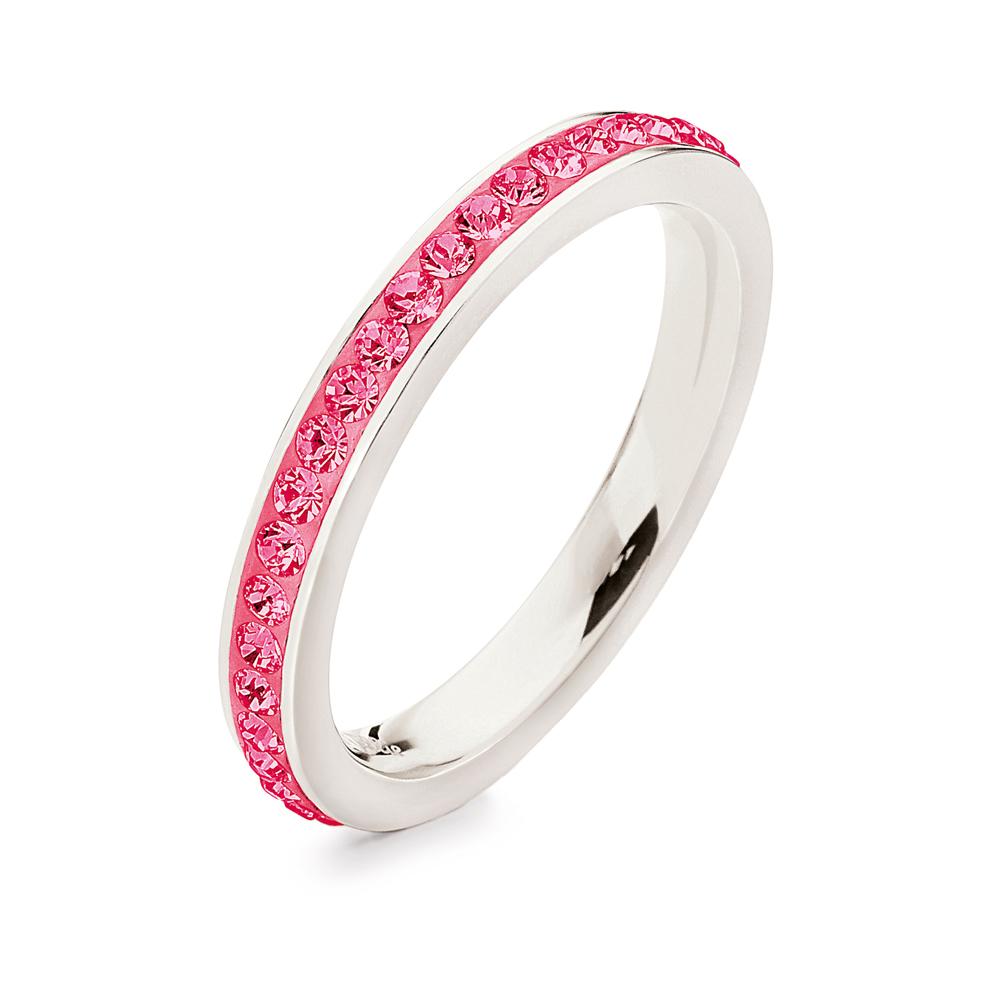 FOLLI FOLLIE - Επάργυρο στενό δαχτυλίδι Folli Follie MATCH   DAZZLE ... 2c2b865d17d