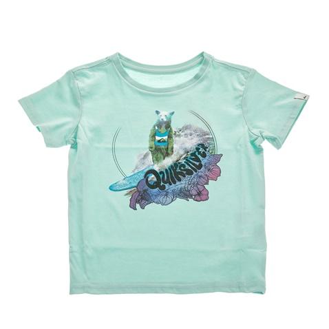 Αγορίστικη κοντομάνικη μπλούζα QUIKSILVER γαλάζια (1675974 ... f2d79f0fc58