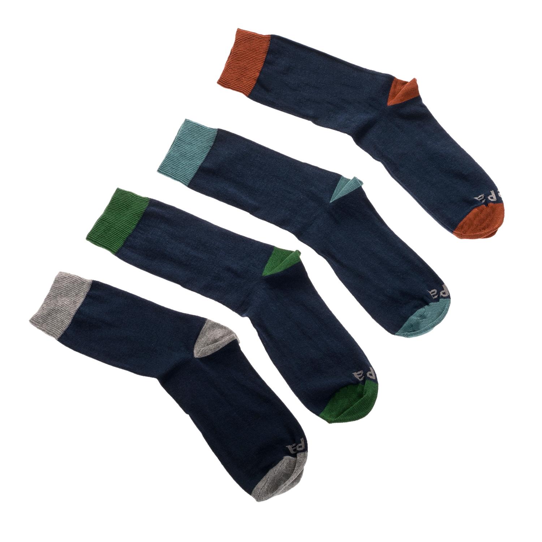 GSA - Σετ ανδρικές κάλτσες JEPA μπλε ανδρικά αξεσουάρ κάλτσες