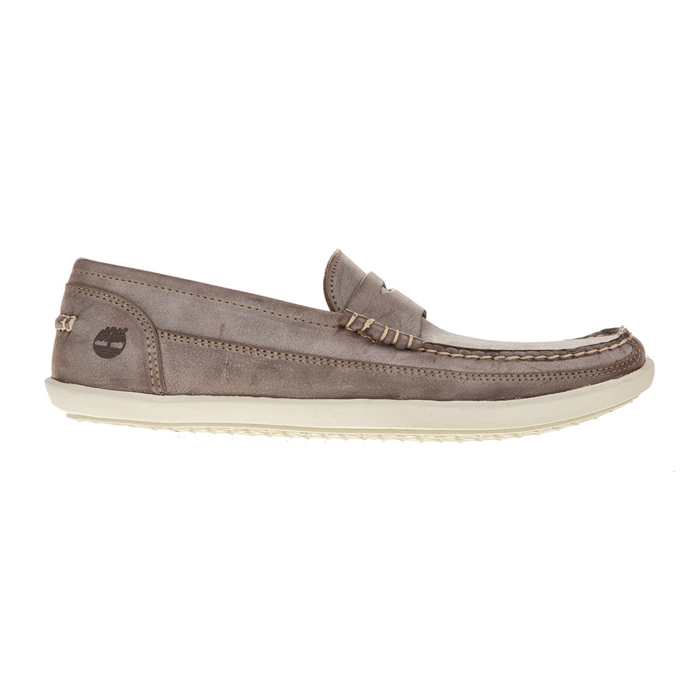 TIMBERLAND - Ανδρικά μοκασίνια TIMBERLAND ODELAY PENNY καφέ ανδρικά παπούτσια μοκασίνια loafers